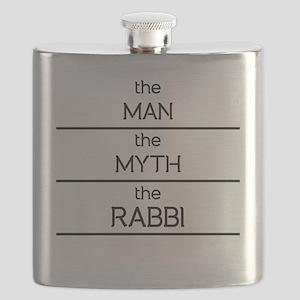 The Man The Myth The Rabbi Flask