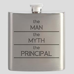The Man The Myth The Principal Flask