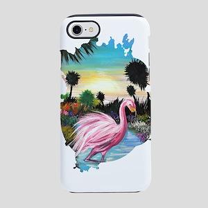 Flamingos Paradise iPhone 8/7 Tough Case