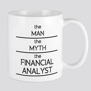 The Man The Myth The Financial Analyst Mugs