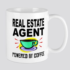 Real Estate Agent Powered By Coffee Mugs