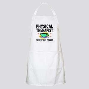 Physical Therapist Powered By Coffee Apron