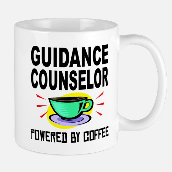 Guidance Counselor Powered By Coffee Mugs