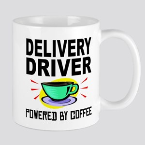 Delivery Driver Powered By Coffee Mugs