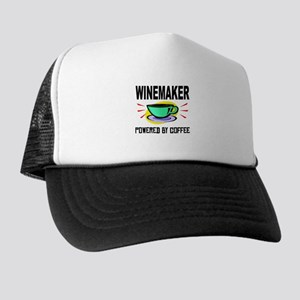 Winemaker Powered By Coffee Trucker Hat