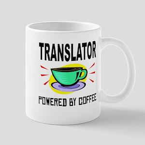 Translator Powered By Coffee Mugs