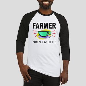 Farmer Powered By Coffee Baseball Jersey
