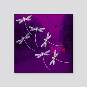 Dragonflies on water Sticker