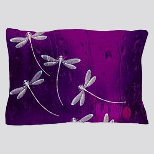 Dragonflies on water Pillow Case