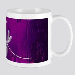 Dragonflies on water Mugs