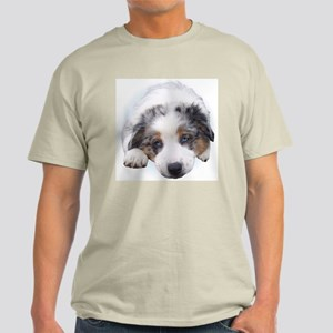 Blue Merle Pup Light T-Shirt