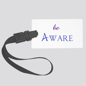 be Aware Large Luggage Tag