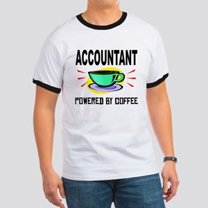 Accountant Powered By Coffee T-Shirt