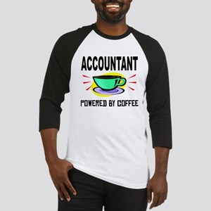 Accountant Powered By Coffee Baseball Jersey