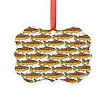 Golden Trout Pattern Ornament