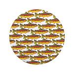 Golden Trout Pattern Button