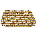 Golden Trout Pattern Bathmat