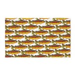 Golden Trout Pattern Area Rug