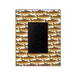 Golden Trout Pattern Picture Frame