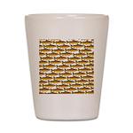 Golden Trout Pattern Shot Glass