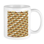 Golden Trout Pattern Mugs
