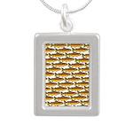 Golden Trout Pattern Necklaces