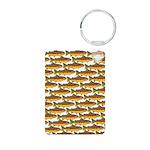 Golden Trout Pattern Keychains