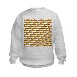 Golden Trout Pattern Sweatshirt