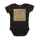 Golden Trout Pattern Baby Bodysuit