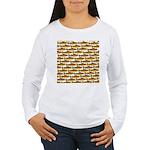 Golden Trout Pattern Long Sleeve T-Shirt