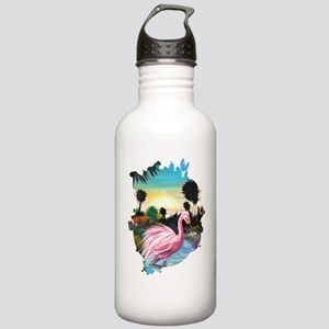 Flamingos Paradise Stainless Water Bottle 1.0L