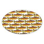 Golden Trout Pattern Sticker
