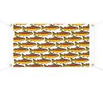 Golden Trout Pattern Banner