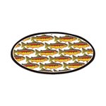 Golden Trout Pattern Patch