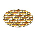 Golden Trout Pattern Wall Decal