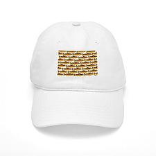 Golden Trout Pattern Baseball Cap
