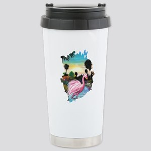 Flamingos Paradise Mugs