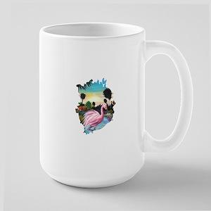 Flamingos Paradise Mugs