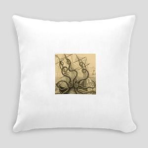Kraken attack Everyday Pillow