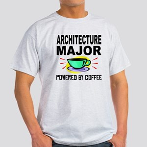 Architecture Major Powered By Coffee T-Shirt