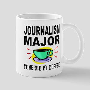 Journalism Major Powered By Coffee Mugs