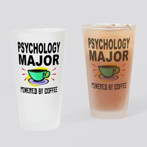 Psychology Major Powered By Coffee Drinking Glass