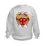 Tojal Family Crest Kids Sweatshirt