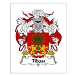 Tibau Family Crest Small Poster