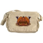 Jack-O-Lantern Messenger Bag