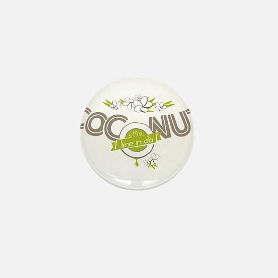 Lime in the Coconut II Mini Button