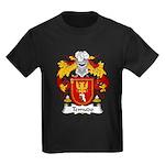 Temudo Family Crest Kids Dark T-Shirt
