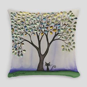 Prescott Stray Cat Everyday Pillow