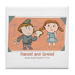 Hansel Gretel Tile Coaster