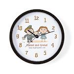 Hansel Gretel Wall Clock